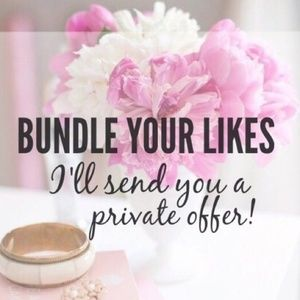 Bundles !!! Offer me lower offers !!